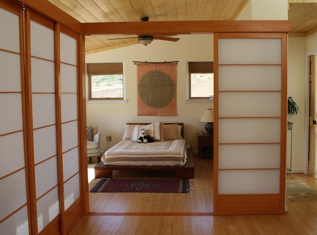 Strand Woven Natural Asian Bedroom Dc Metro By