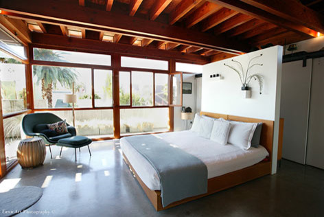 Studio EA | David Hertz Architects Inc. modern bedroom