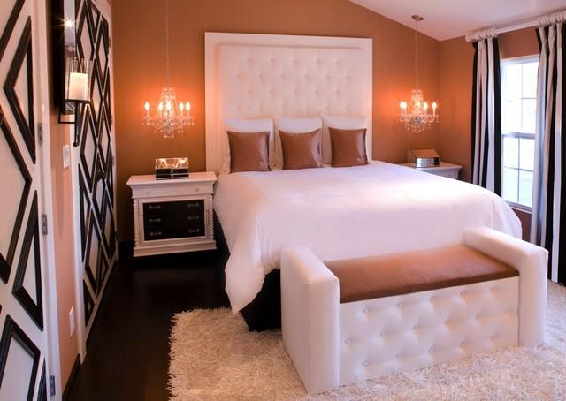Studio Living Quarters contemporary-bedroom