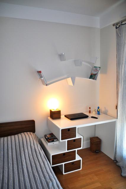 Study Room Interior Design: Study Table- Çengelköy