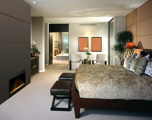 Stylish Bedrooms Beauteous Stylish Bedrooms  Contemporary  Bedroom  Other Electric