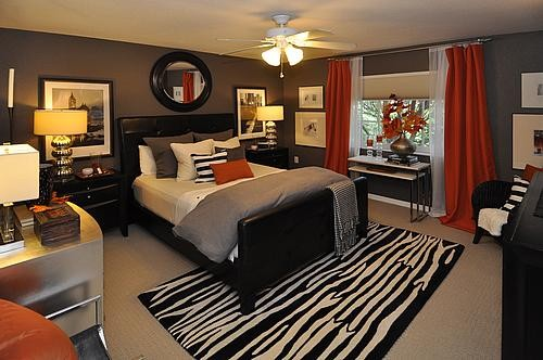 Stylish florida townhome contemporary bedroom miami for Bedroom ideas young man