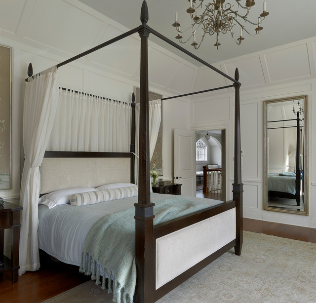 Suburban estate traditional bedroom chicago by for Long mirrors for bedroom