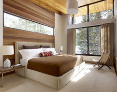 Sugar Bowl Residence modern bedroom