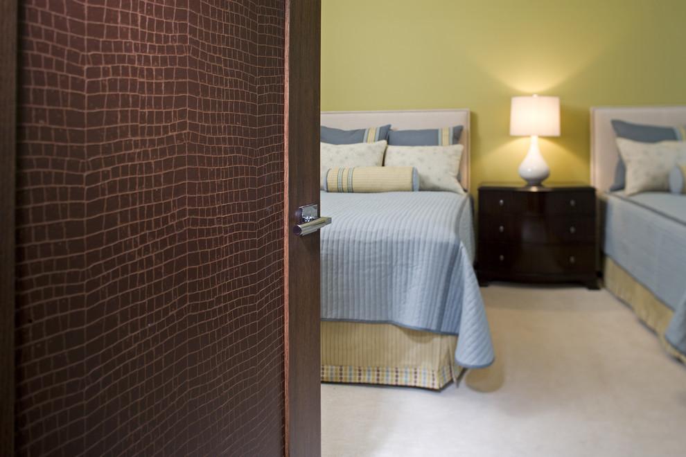 Bedroom - contemporary bedroom idea in Minneapolis