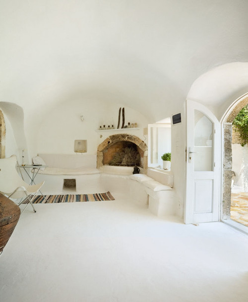 Summer House, Island of Kythira, Greece mediterranean bedroom