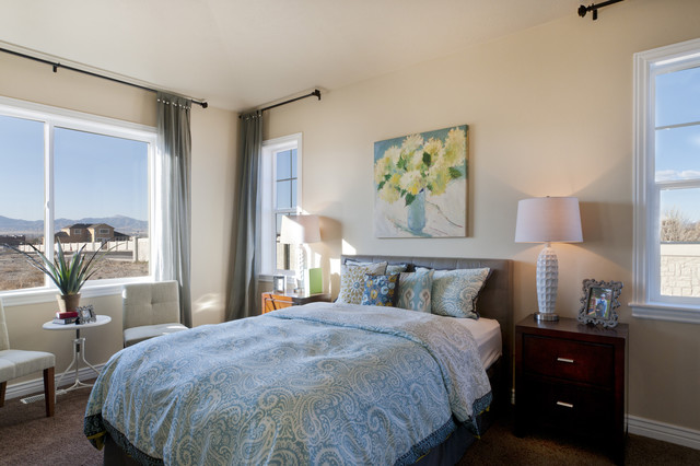 Summerlin Meadows Model - Telluride Design traditional-bedroom