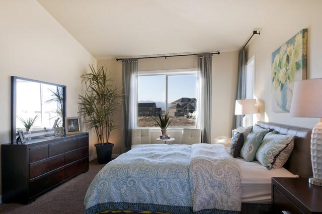 Summerlin Meadows Model  Telluride Design  Traditional  Bedroom