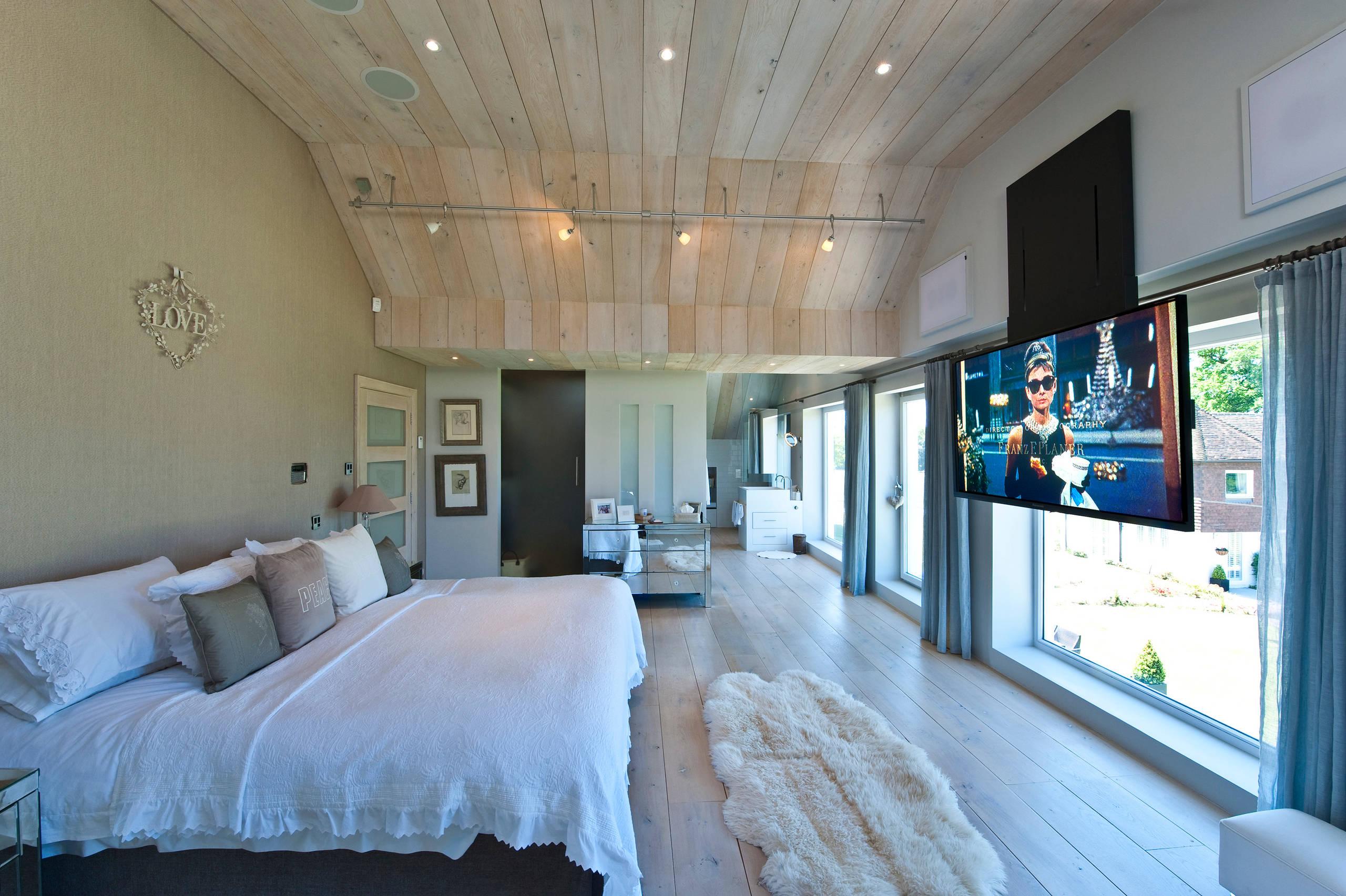 Bedroom Tv  Houzz