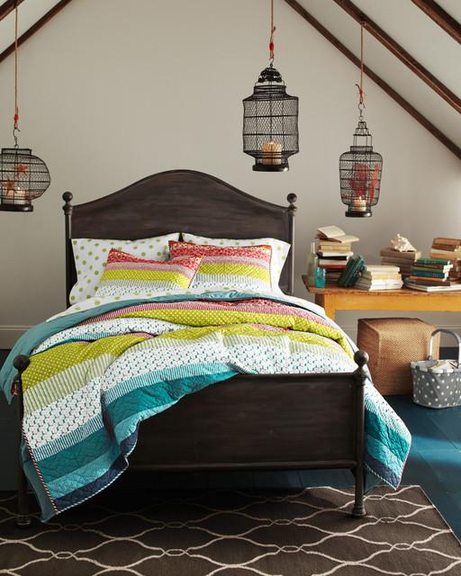 sunset strip bedroom traditional bedroom by garnet hill