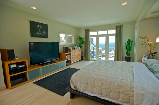 Sunshine Canyon After - Boulder, Colorado contemporary-bedroom