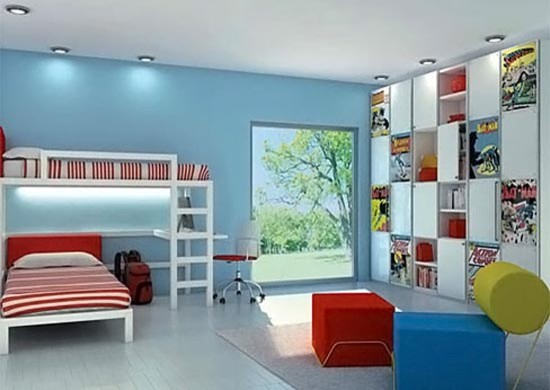 Superhero rooms bedroom