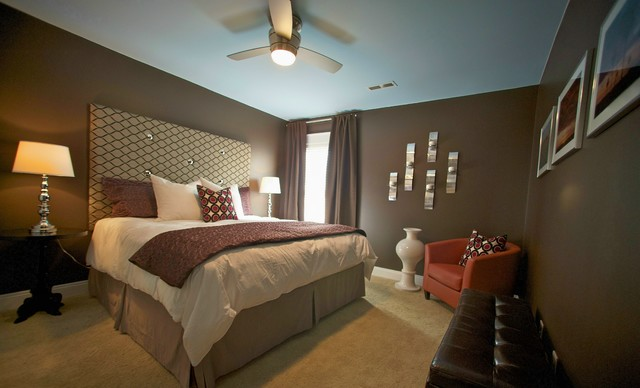 swanky guest room on a budget modern bedroom 12584 | modern bedroom