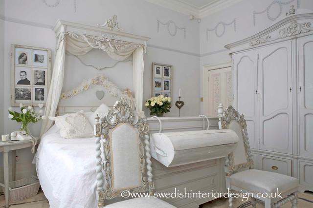 Swedish Gustavian Bedroom Traditional Bedroom London