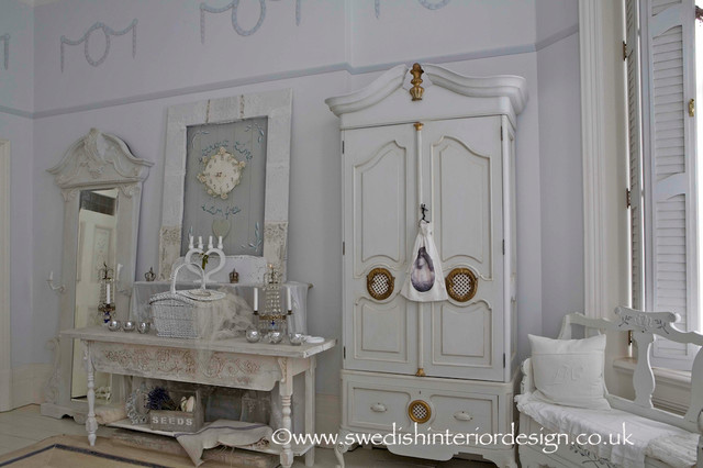 swedish gustavian bespoke bedroom cabinet and server table traditional bedroom london by. Black Bedroom Furniture Sets. Home Design Ideas