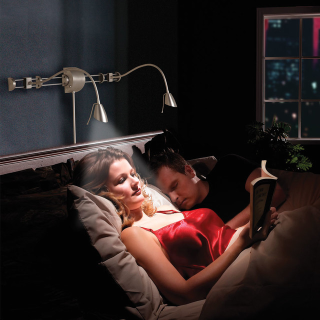 swing arm over bed reading light