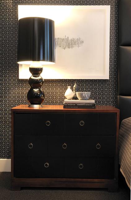 T Eatons Loft Bedrooms contemporary-bedroom