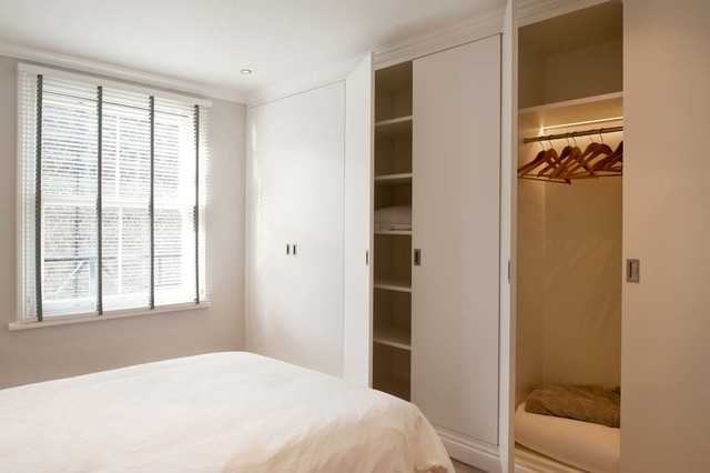 Talbot Road, Notting Hill contemporary-bedroom
