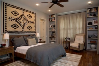 tarrytown transitional bedroom austin by laura roberts design