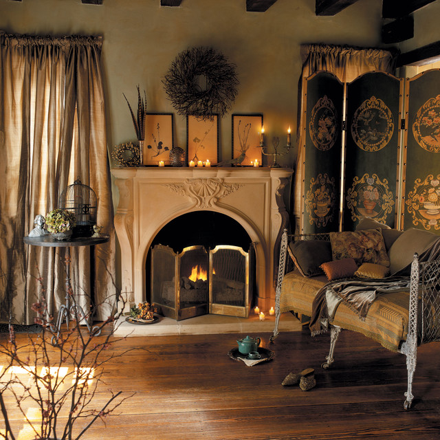 Taunton Cast Stone Fireplace Mantel Traditional Bedroom