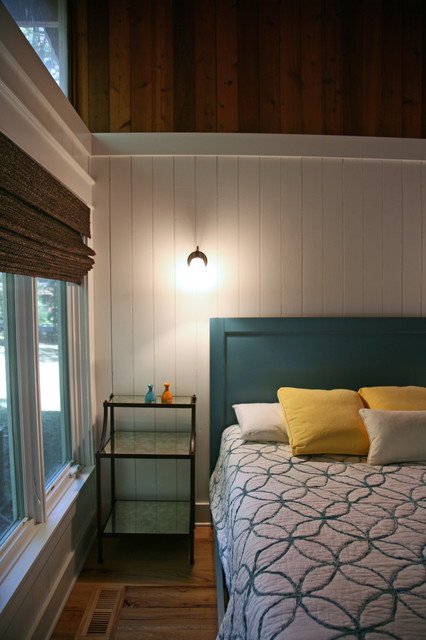 Teal And Yellow Bedroom Beach Style Bedroom