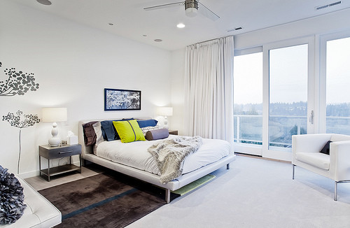 Teal Point contemporary-bedroom
