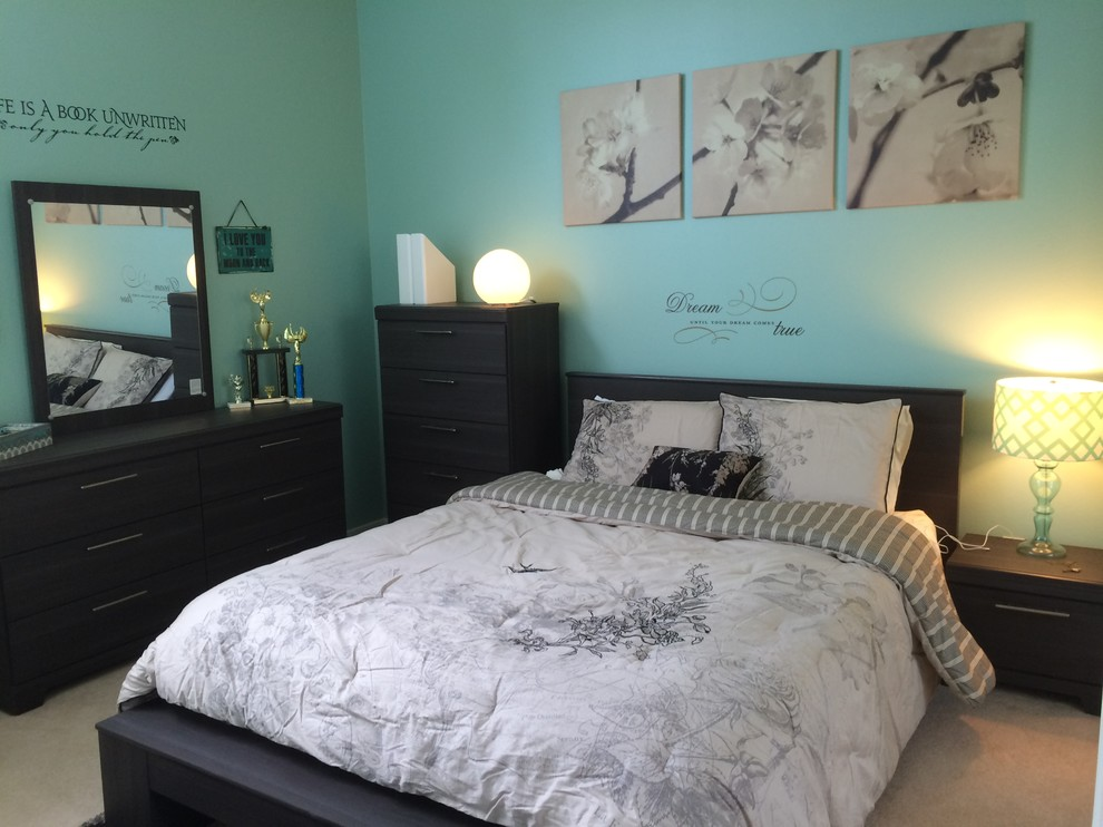 Teen Bedroom - Contemporary - Bedroom - Los Angeles - by L ... on Teenager:_L_Breseofm= Bedroom Ideas  id=82544