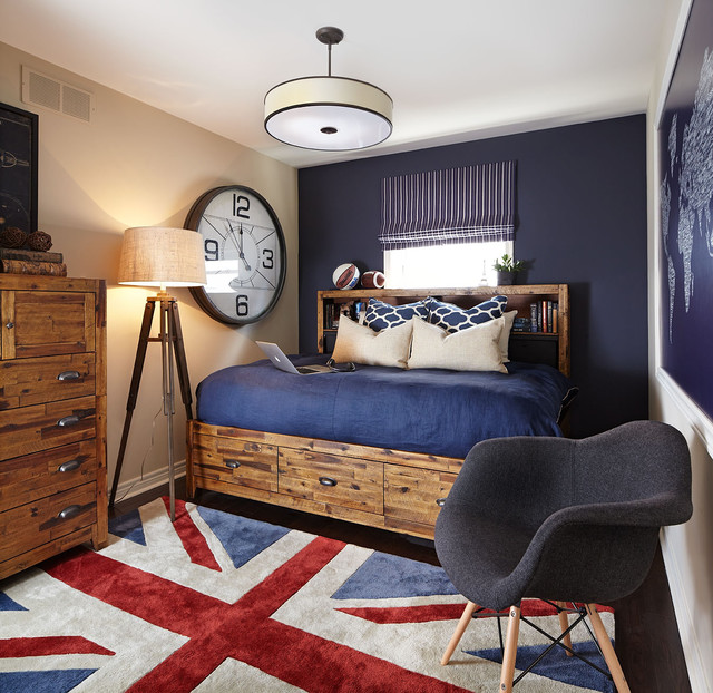 The perfect pallet for boys of any age navy red brown for Perfect interior designs inc