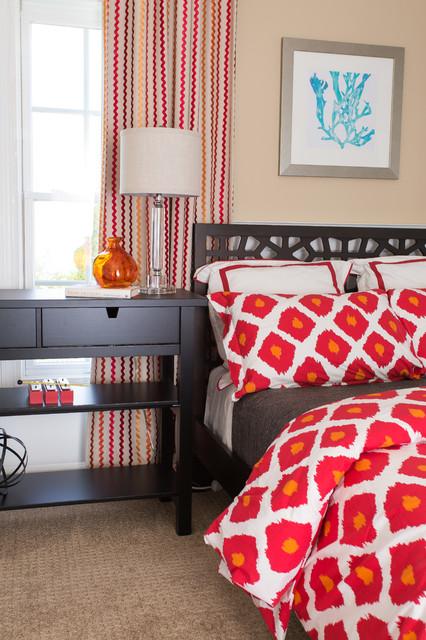 ワシントンD.C., DCのトランジショナルスタイルの寝室の写真
