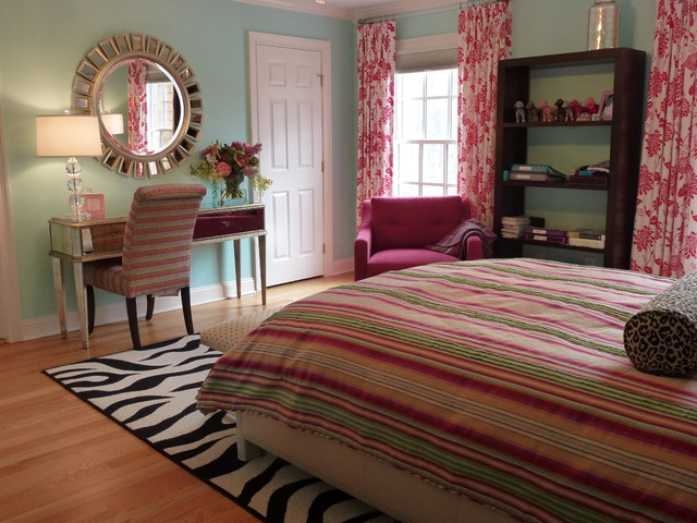 Teen girl 39 s bedroom eclectic bedroom other metro by allison lee ethan allen danbury ct - New york girls room ...