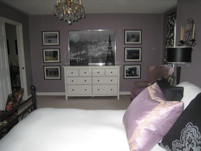 Teen girl 39 s bedroom eclectic bedroom - Purple themed bedroom ideas ...