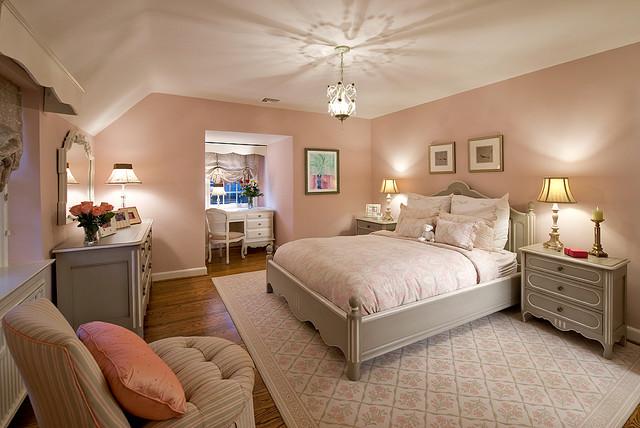 teen girl 39 s bedroom shabby chic style schlafzimmer philadelphia von viola interior. Black Bedroom Furniture Sets. Home Design Ideas