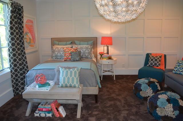 Teen Girls Bedroom Lounge - Contemporary - Bedroom - Atlanta ...