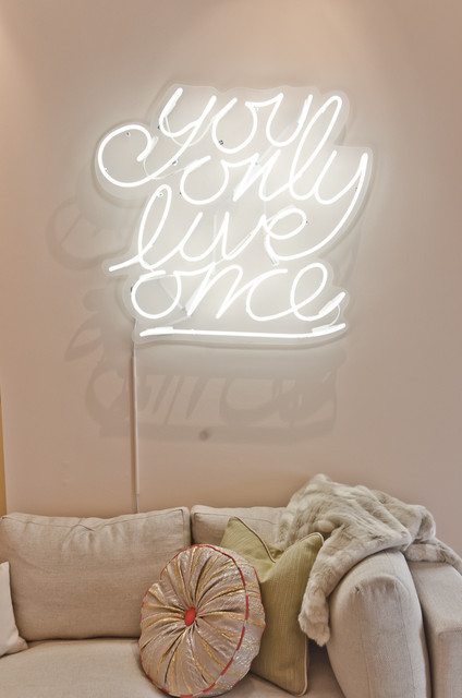 Teen Only Hang Out Room by Em Design Interiors eclectic-bedroom