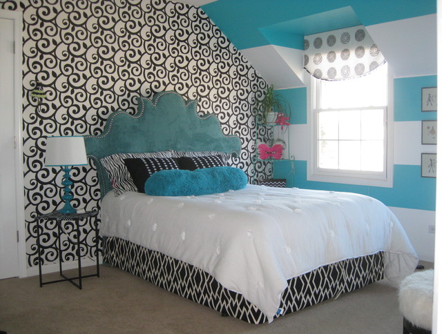 Teen Room Contemporary Bedroom Chicago By Donna Murray Designs