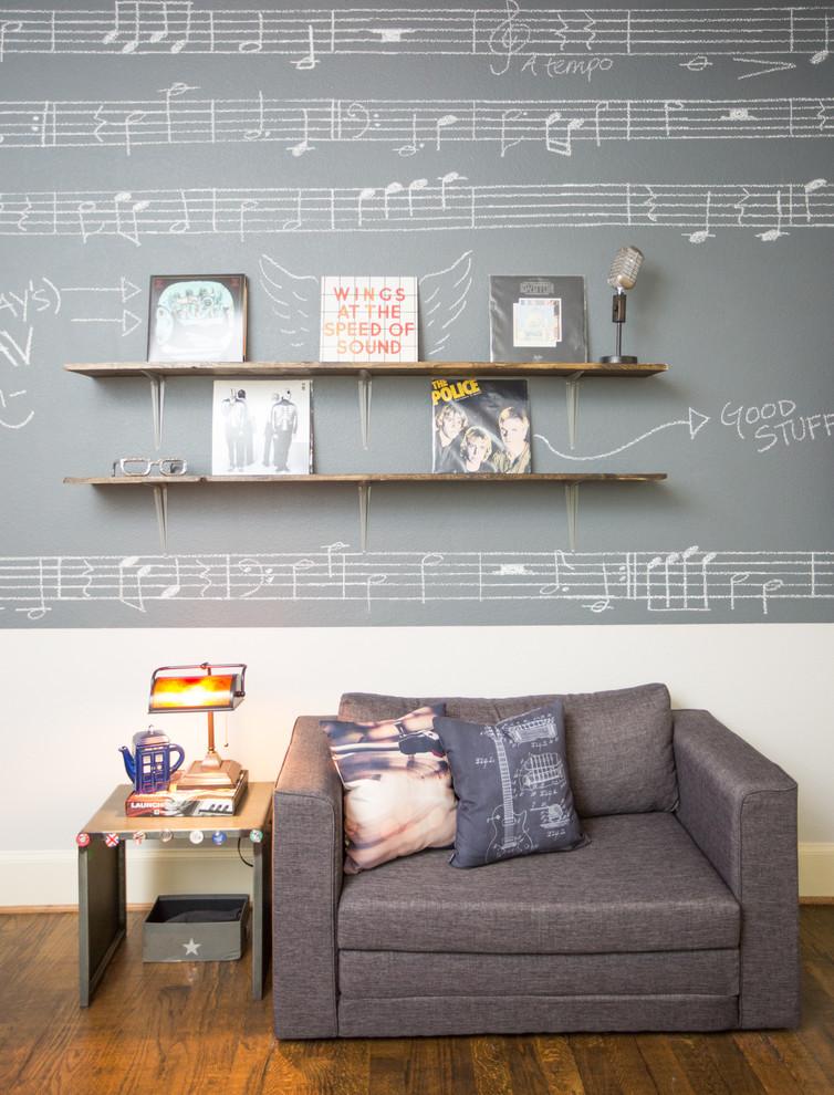 Bedroom - bedroom idea in Dallas