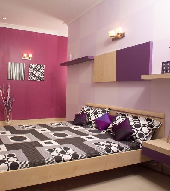 Teen's room modern-bedroom