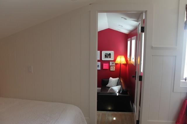 Teenage girls suite eclectic bedroom new york by annie diamond - Bedroom suites for teenage girls ...
