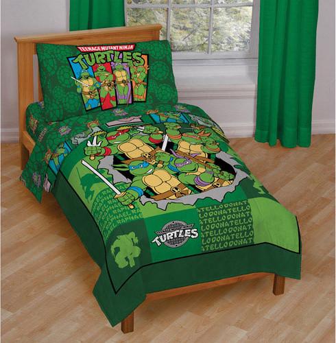 Beautiful Teenage Mutant Ninja Turtles Bedding And Room Decorations Modern Bedroom