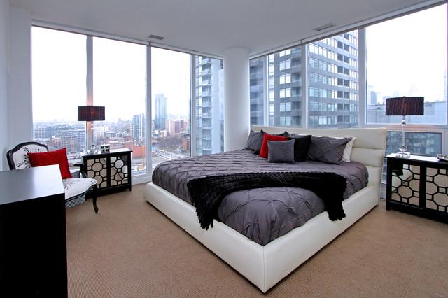 Fine Telegram Mews Condo Contemporary Bedroom Toronto By Beutiful Home Inspiration Aditmahrainfo