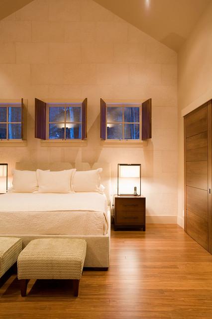Teragren Bamboo Flooring Scandinavian Bedroom Chicago By
