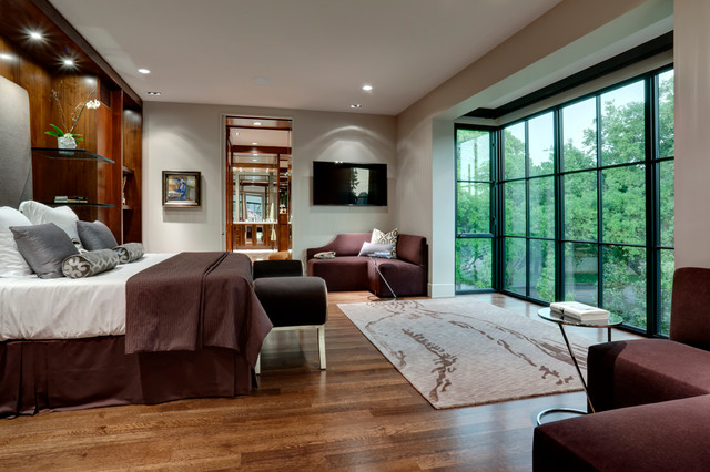 texas residence contemporary bedroom