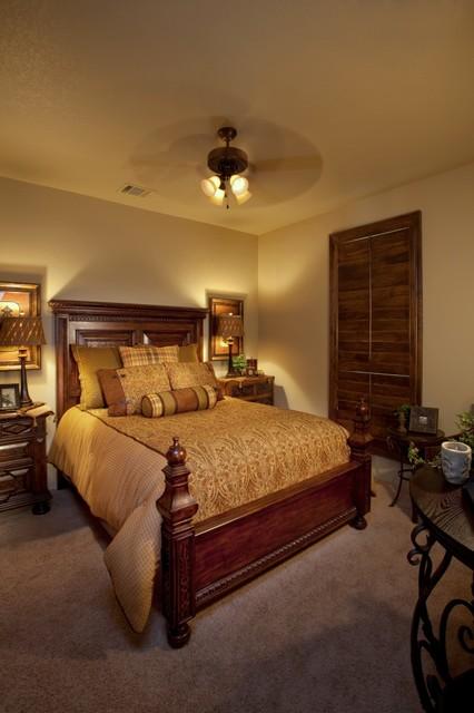 Texas Tuscan Bedrooms mediterranean-bedroom
