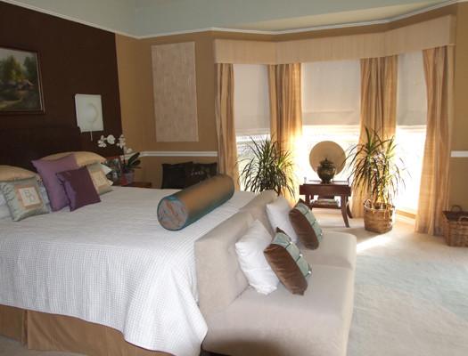 Thai Master Bedroom asian-bedroom