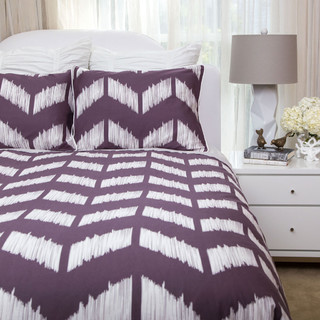 The addison purple duvet set contemporary bedroom for Addison salon san francisco