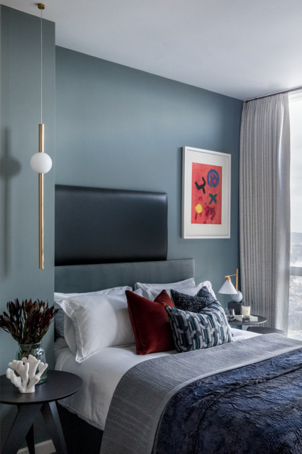 The Atlas Building Contemporary Bedroom London By Angel O Donnell