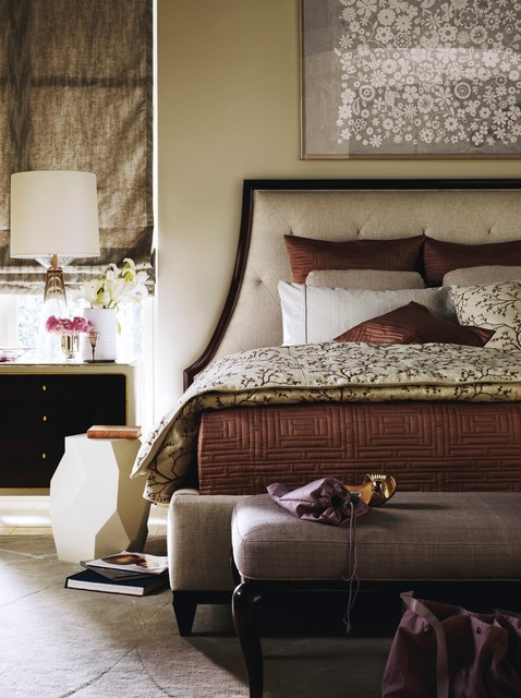 The Barbara Barry Collection   Baker Furniture Contemporary Bedroom