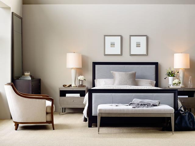Bon Bedroom   Transitional Bedroom Idea In Milwaukee