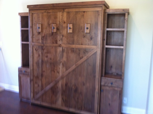 The Best custom-made Murphy Beds in Texas! - Rustic - Bedroom - Austin - by Suite Dreams Murphy Beds
