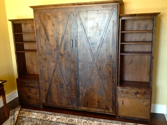 The Best Custom Made Murphy Beds In Texas Rustic